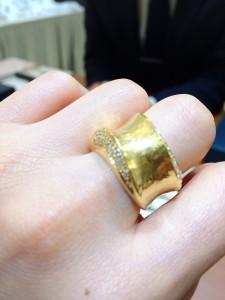 ゴールドとダイヤ